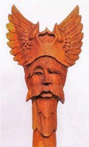 Wanderstab Odin