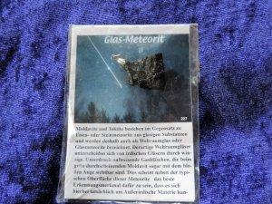Edelsteinkette Meteorit