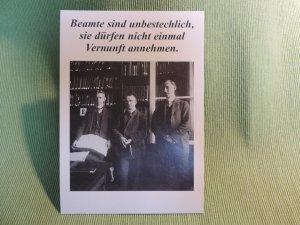 Postkarte Beamte