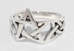 Pentagramm Ring