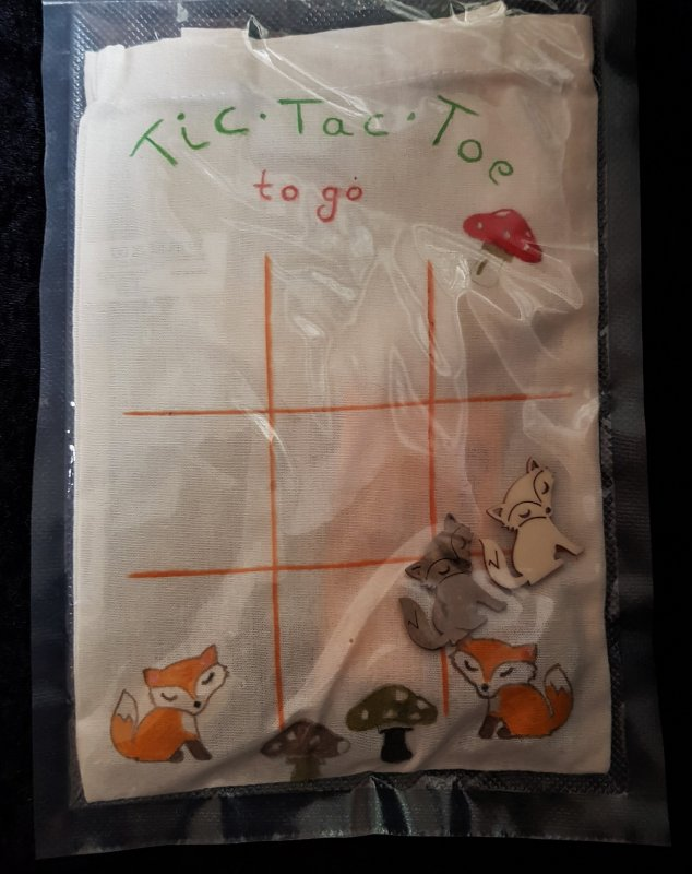 Tic Tac Toe to go Taschenspiel
